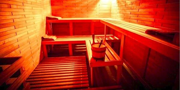 Sauna Troja pro 2 osoby na 60 minut