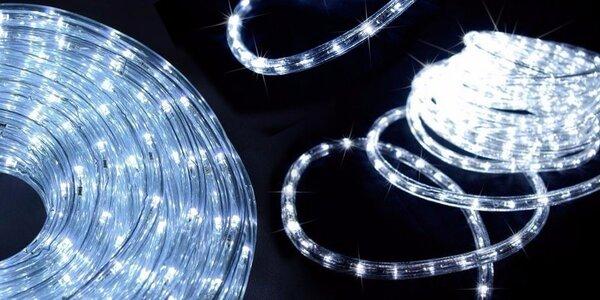 Vánoční LED světelný kabel na ven i doma