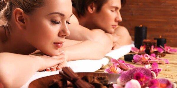 60minutová luxusní partnerská masáž