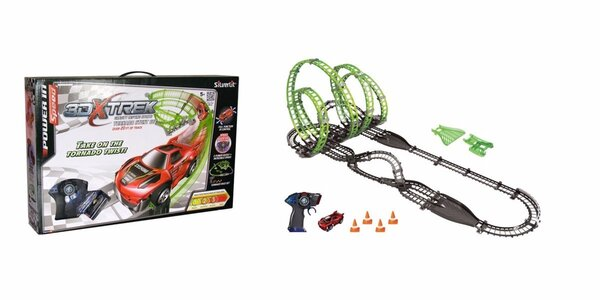 Kvalitní autodráhy X-Trek pro hravé děti