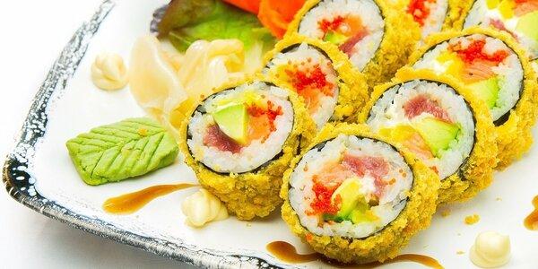 Výtečné sushi sety v restauraci Pho Original