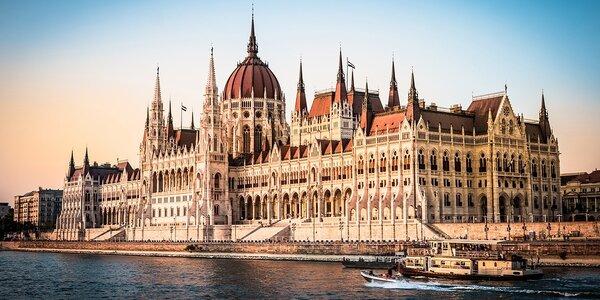 Zima uprostřed Budapešti se snídaní