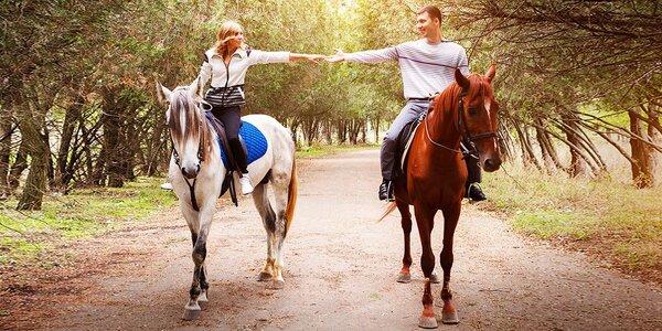 Romantická vyjížďka na koni