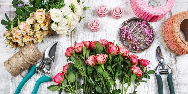 Floristický kurz – netradiční dárky a kytice