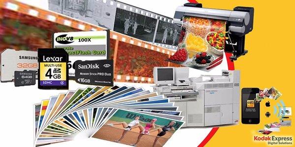 Fotografické služby od Kodak express