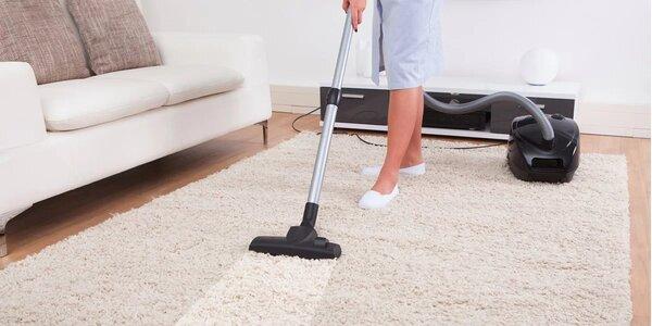 Čištění koberců v domácnostech i kancelářích do 40 m²