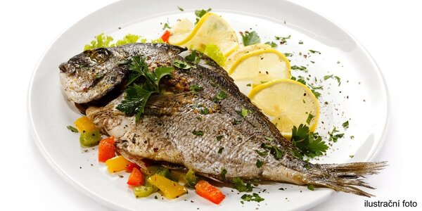 3chodové rybí menu pro dva v La Casa