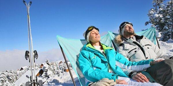 Zimní radovánky na Lipně s výhodným lyžováním