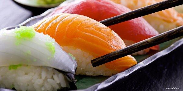 Výtečné kousky sushi v Sushi Miomi