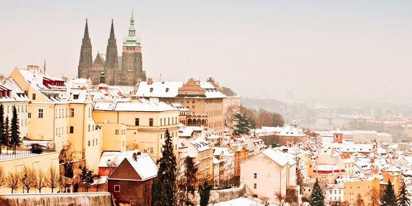 Kouzelný pobyt v designovém hotelu v Praze