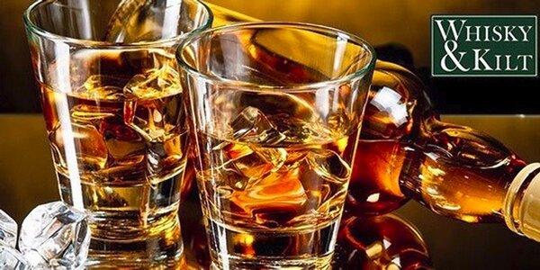 Degustace 6 druhů whisky z celého světa