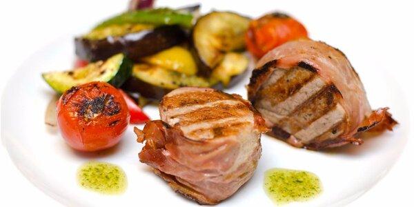 Degustační menu s 5 fantastickými chody