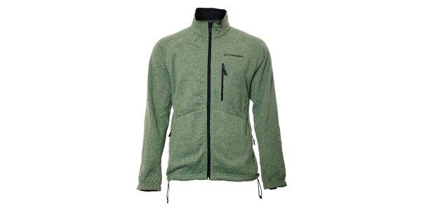 Univerzální zelená softshellová bunda Trimm Davos