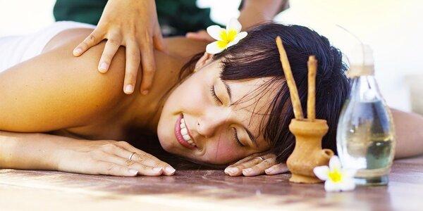 Uvolňující hřejivá masáž s vůní skořice