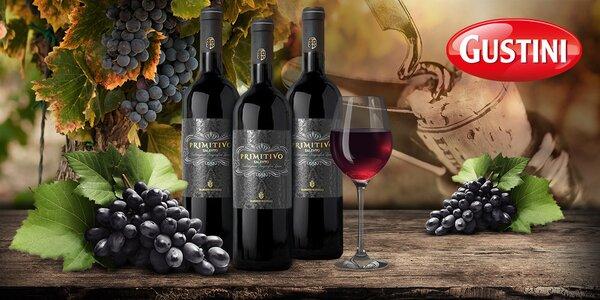 Italská vína Barone Mavelli Primitivo Salento IGT