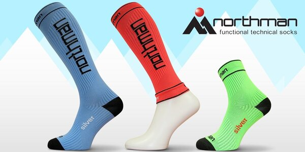 Funkční kompresní ponožky Northman