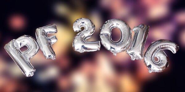 Sada fóliových balonků pro novoroční party