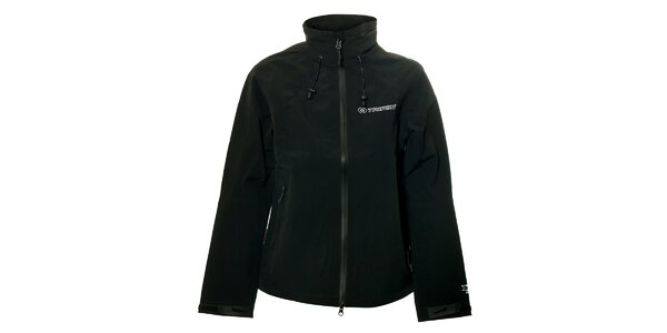 Dámská černá softshellová bunda Trimm Moltana
