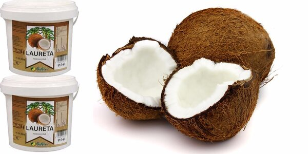2 kg blahodárného kokosového oleje
