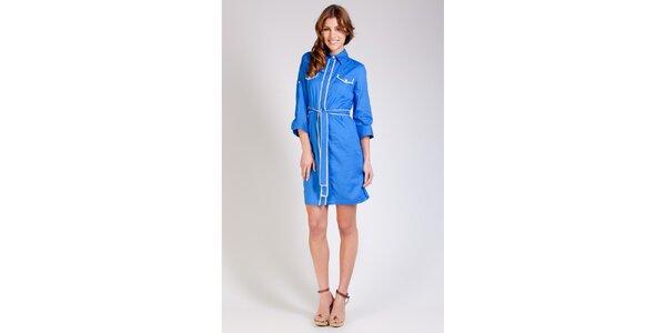 Dámské zářivě modré šaty Tonala