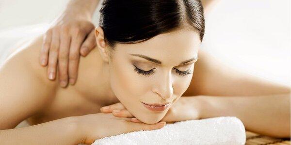 90minutová celková masáž těla