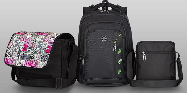 Batohy a tašky Nell pro každodenní nošení