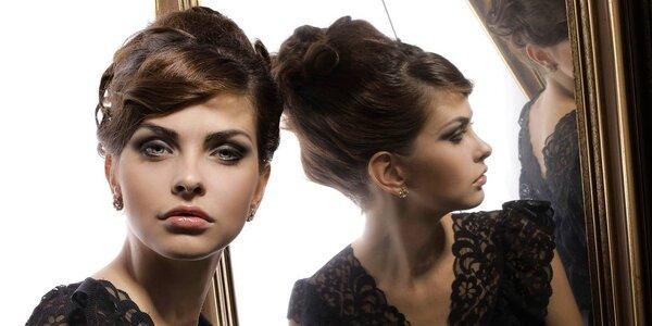 Glamour focení včetně profesionálního líčení a úpravy vlasů