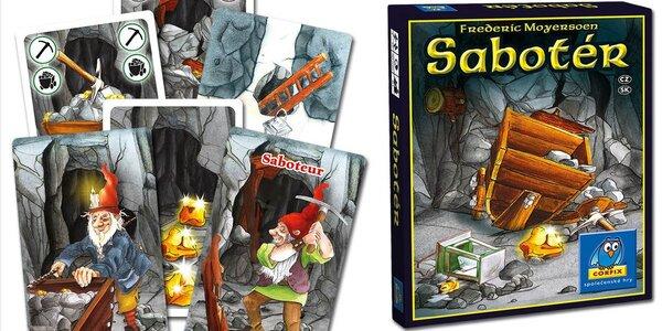 Karetní hra Sabotér