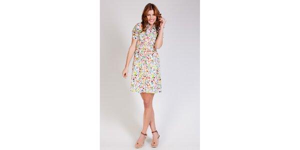 Dámské pestrobarevné šaty Tonala s květinovým vzorem