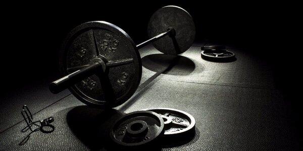 Cvičení ve fitness centru
