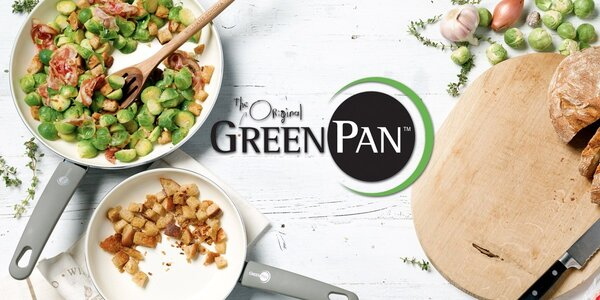 Zdravé vaření s pánvemi značky GreenPAN