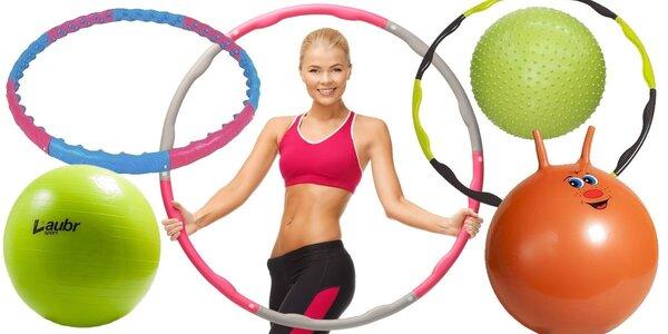 Gymnastické míče a obruče Lauber