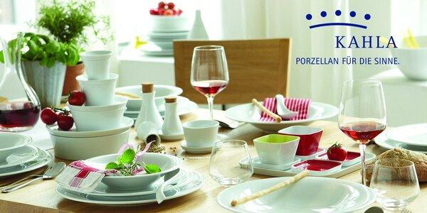 49dílná jídelní sada z luxusního porcelánu