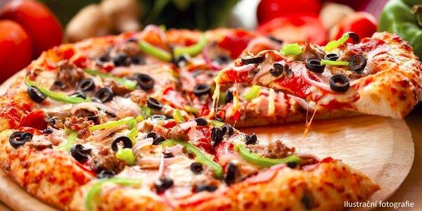 2x Pravá italská pizza dle výběru