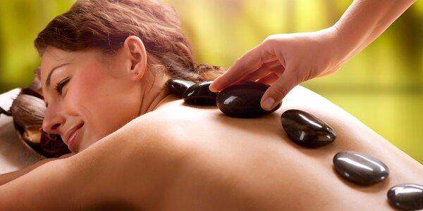 Klasická masáž nebo Masáž lávovými kameny