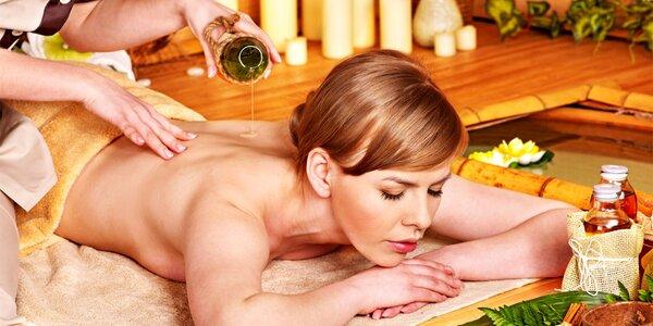 Relaxujte při příjemné masáži