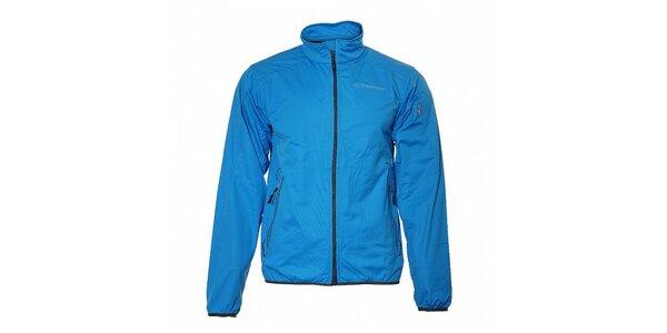 Pánská azurově modrá lehká softshellová bunda Trimm