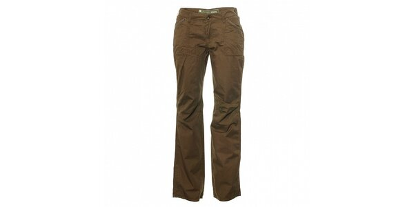 Dámské světle hnědé kalhoty Trimm Laura
