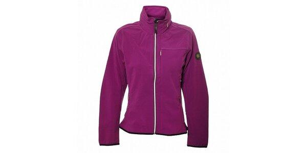 Dámská purpurová softshellová bunda Trimm