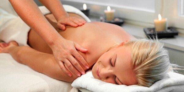 90minutová klasická masáž nebo masáž lávovými kameny