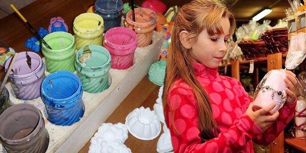 Kreativní den ve svíčkárně Rodas