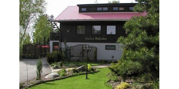 Ubytování pro dva u Sečské přehrady s wellness a spa