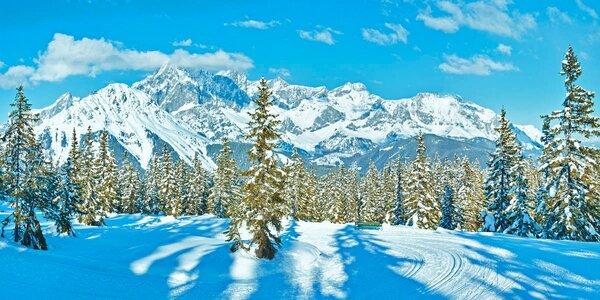 4denní relax v rakouských Alpách s polopenzí a saunou