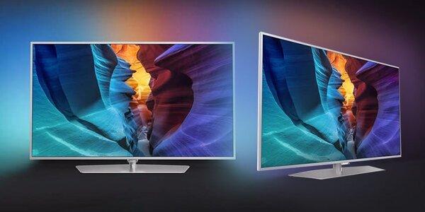 3D LED televize Philips s úhlopříčkou 102 cm