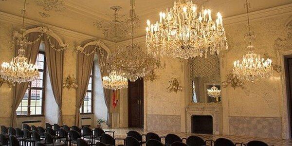 Smyčce v barokním paláci
