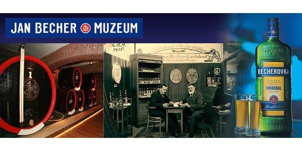 Vstupenky do Jan Becher Muzea!