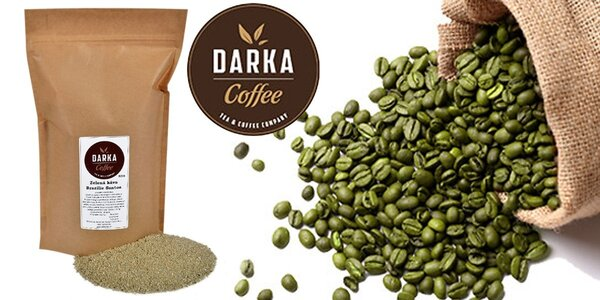 500 g zelené kávy Brazílie Santos