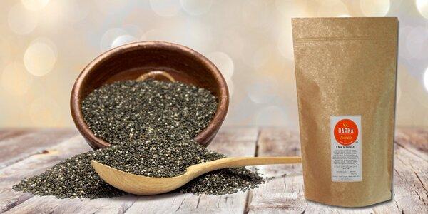 Chia semínka pro zdraví i hubnutí po balení 1 nebo 5 kg