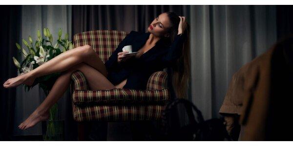 Hodinové focení v boudoir a glamour stylu