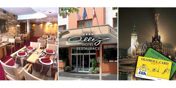 2670 Kč za krásný víkendový pobyt pro dva v hotelu Alley v Olomouci!